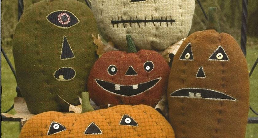 Primitive Folk Art Pumpkin Pattern Primfolkartshop