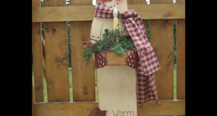 Primitive Wood Crafts Patterns