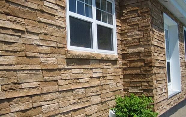 Pvc Siding Panels Vinyl Faux Stone Panel
