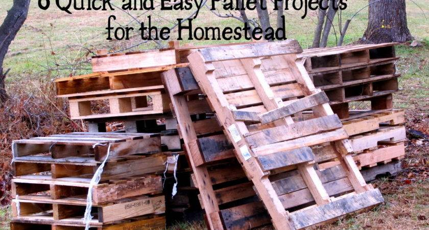 Quick Easy Pallet Projects Homestead