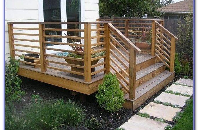 Railing Ideas Deck Decks Home Decorating