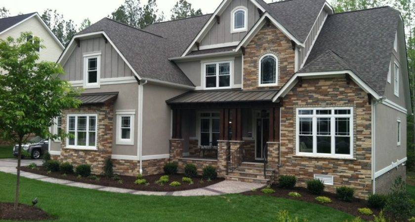 Ranch Style House Siding Design
