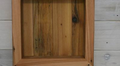 Reclaimed Cedar Shadow Box
