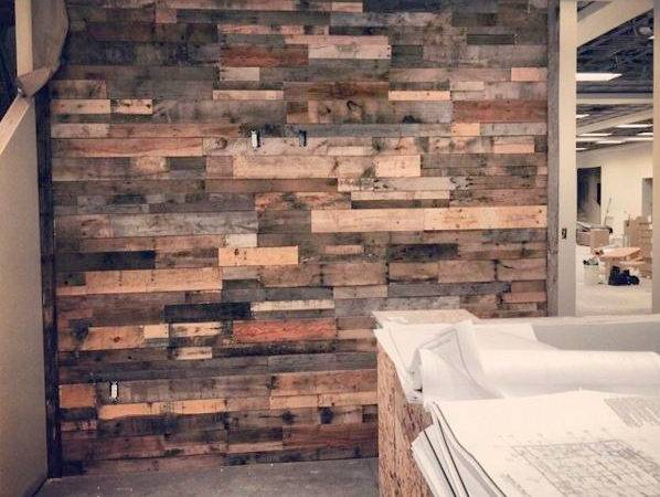 Recycled Pallet Reclaimed Wood Paneling Rustic
