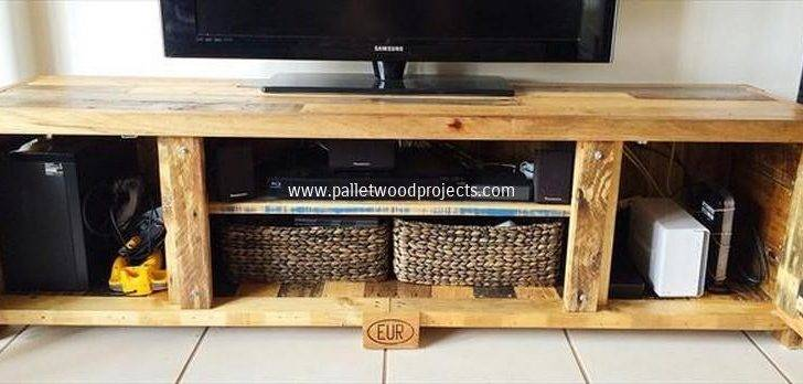 Recycled Pallet Stand Plans Wood Projects