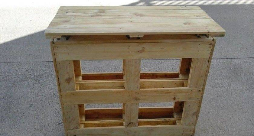Recycled Pallets Bar Table Pallet Furniture Plans