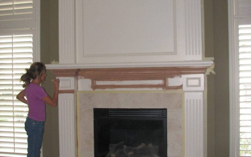 Red Brick Fireplace Makeover Home Design Inside