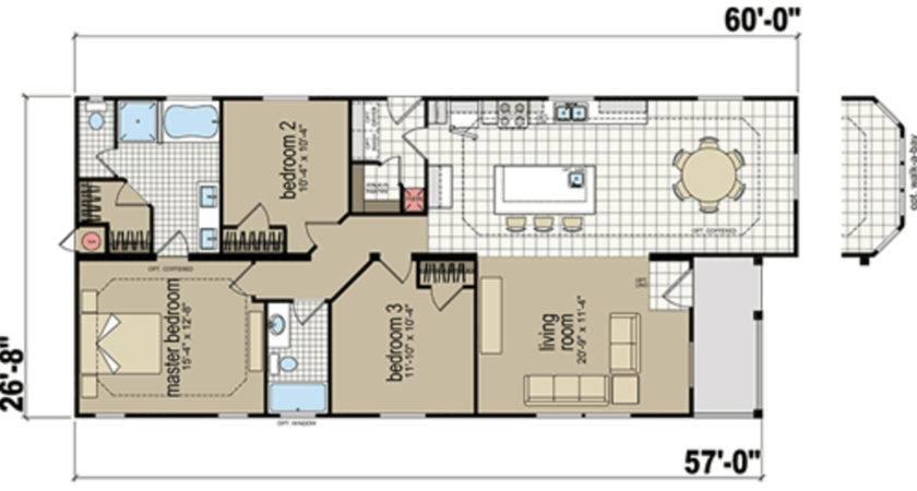 Redman Mobile Home Floor Plans