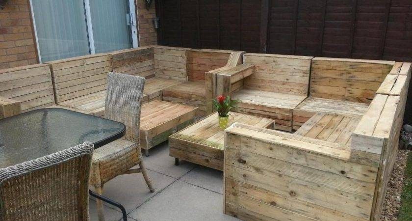 Related Wood Pallet Garden Furniture Pic Outdoor