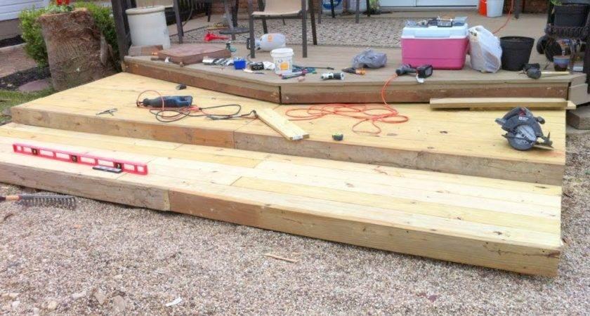 Remodelaholic Build Wooden Pallet Deck Under