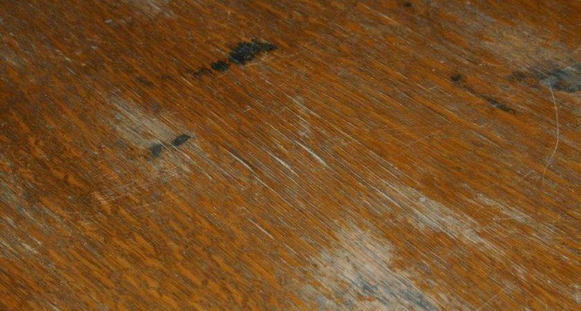 Remove Black Water Stains Wood Furniture