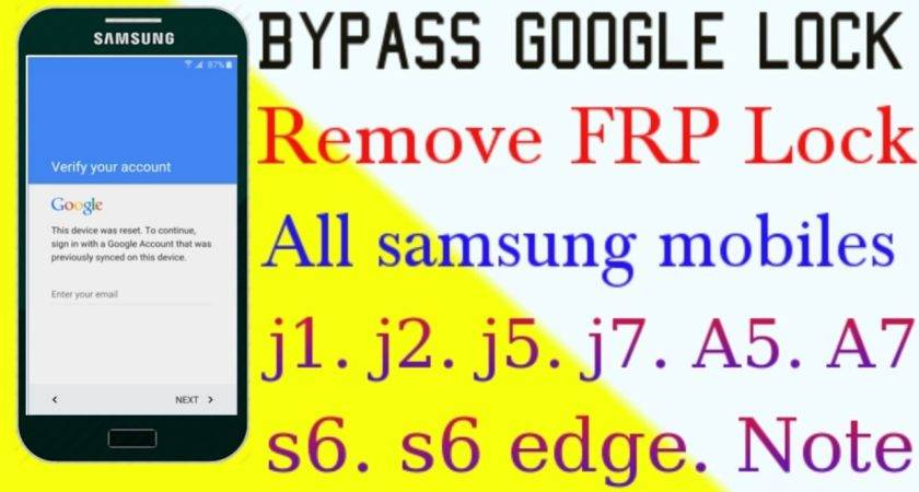 Remove Google Verification Bypass Android Mobile