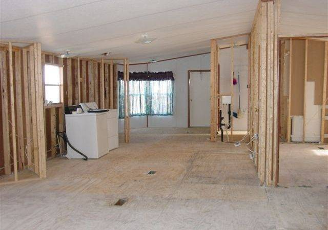 Removing Walls Mobile Home Mobilehome Rennovating
