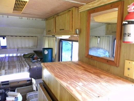 Repaired Remodeled Restored Old Camper