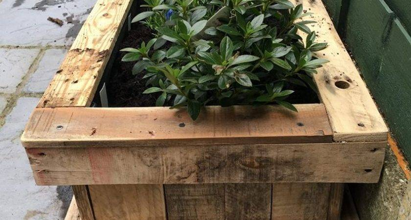 Repurposed Pallet Wood Planter Ideas Recycled