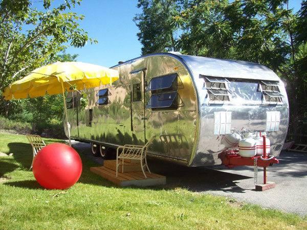 Restore Your Camper Trailer Houses Plans Designs