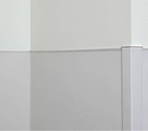 Rigid Vinyl Wall Protection Trim