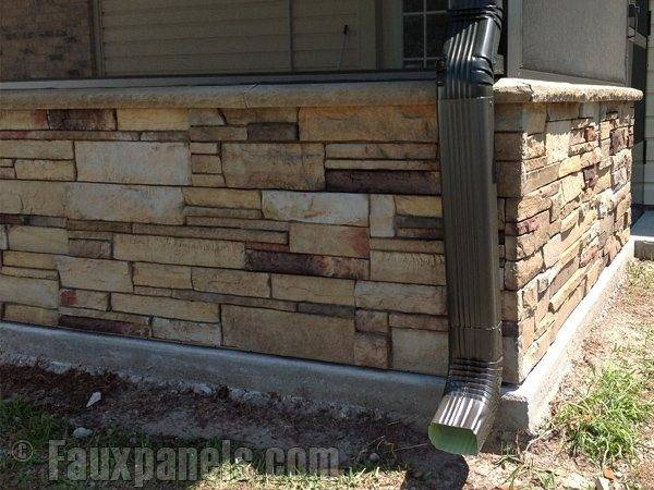 Rock Mobile Home Skirting Pic Fly Stone Bestofhouse