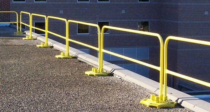 Roof Edge Railings Rooftop Safety Equipment Top
