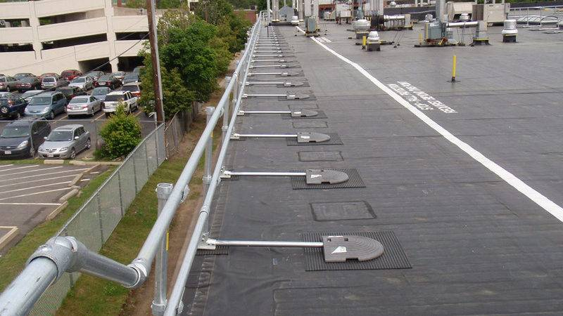 Roof Railing System Fall Protection Osha