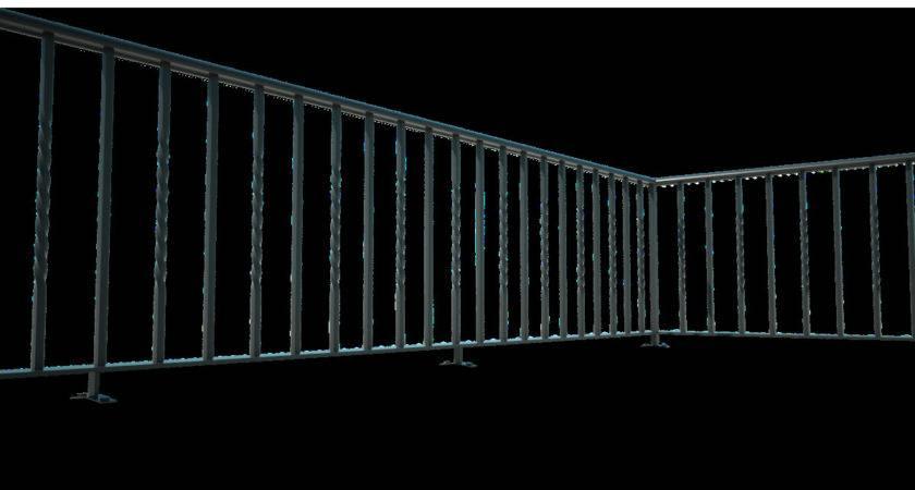 Roof Terrace Railings Titan Forge Ltd