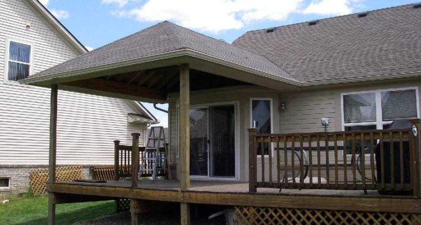 Roofing Existing Deck Modern Style Building Roof