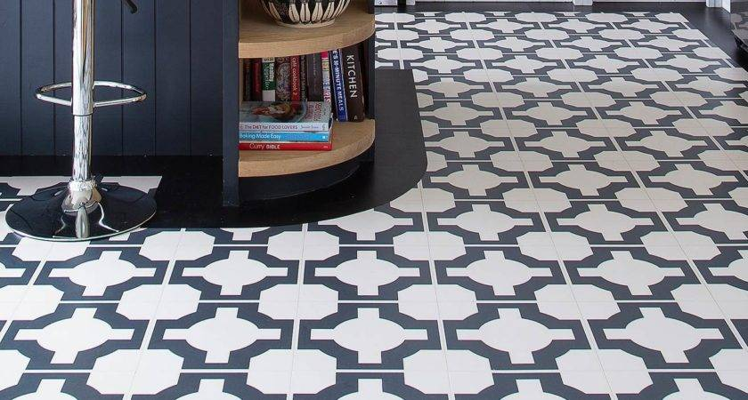 Rubber Tile Looking Flooring Stunning Home Design