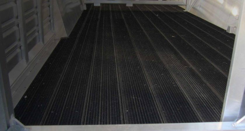 Rubber Trailer Flooring Floors Doors Interior Design