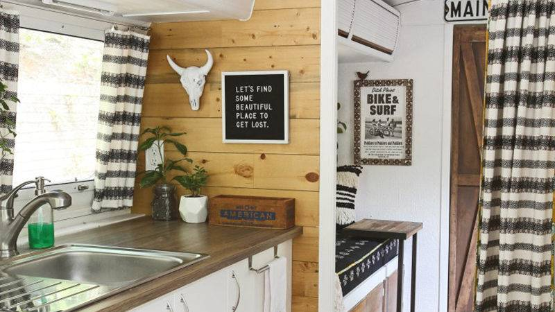 Rustic Camper Remodels Mountainmodernlife