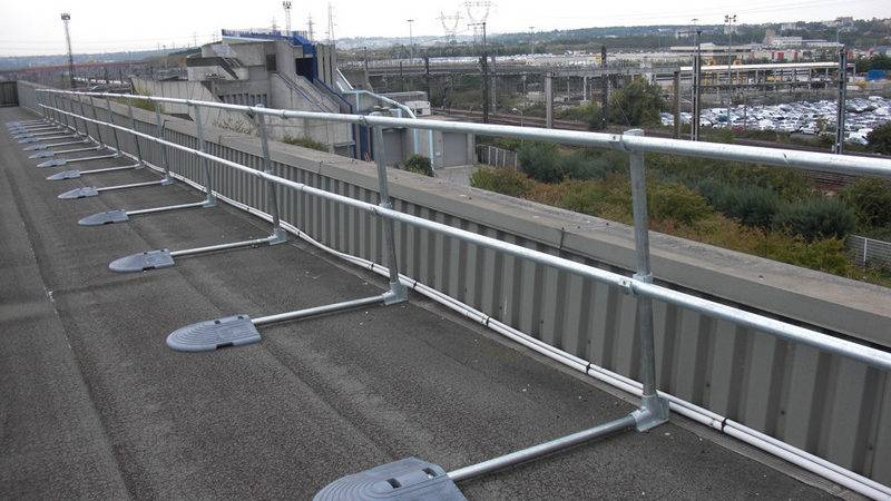 Safety Railing Systems Fall Protection Guardrail