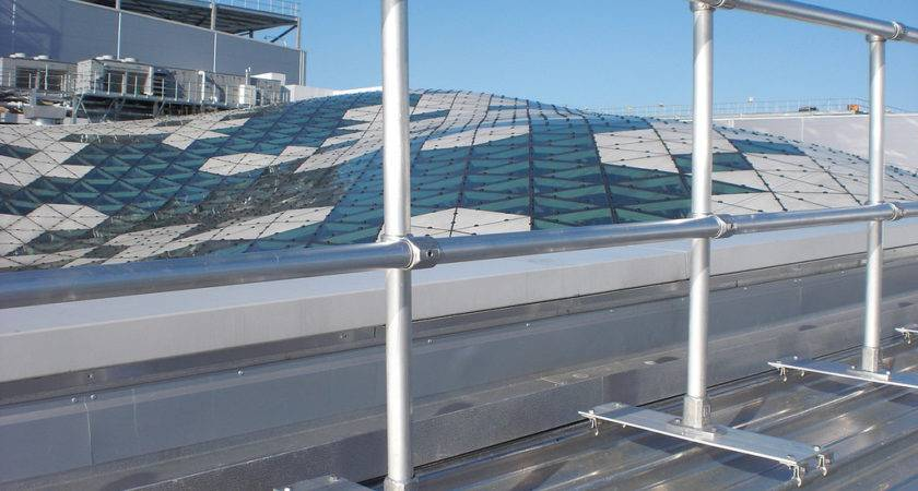 Safety Railing Your Metal Roof Keeguard