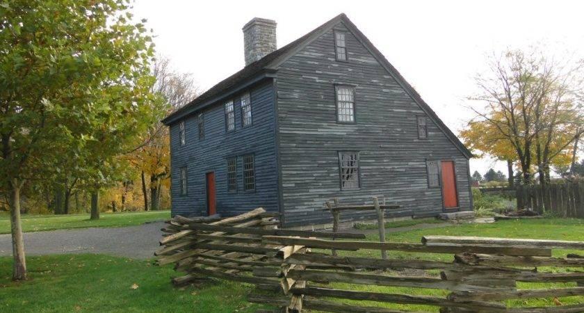 Saltbox House Connecticut Wells Dana Plans