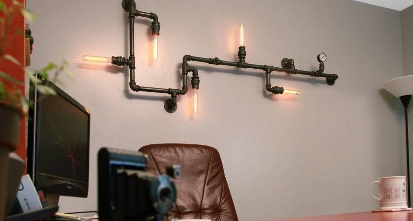 Savvy Handmade Industrial Decor Ideas Can Diy
