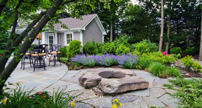 Scape Idea Outdoor Tuscan Style Backyard Landscaping