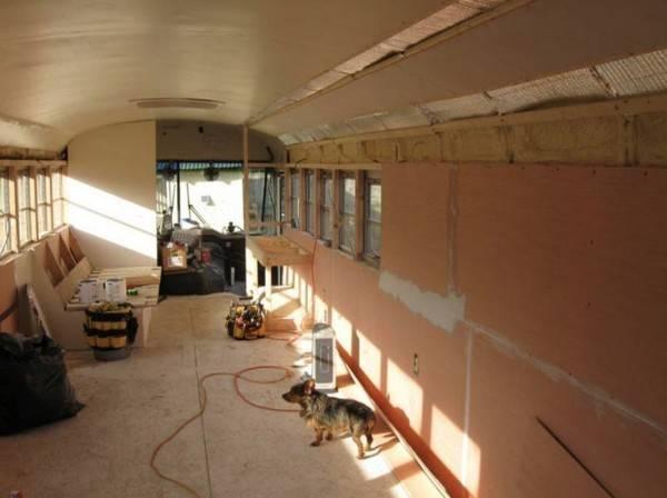 School Bus Converted Into Amazing Diy Motorhome