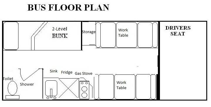 School Bus Floor Plan Thefloors