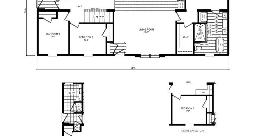 Schult Single Floor Plan Kitchen Island Perry Plans