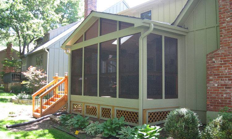 Screened Porch Archadeck Kansas City
