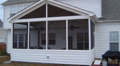Screened Porch Casual Cottage