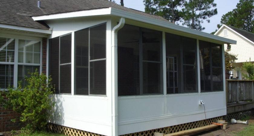 Screened Porch Design Elegant All Seasons