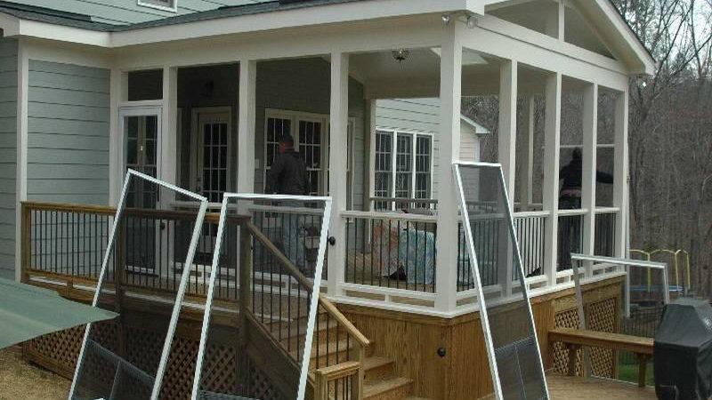 Screened Porch Plans Joy Studio Design Best