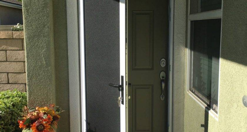 Security Doors Mobile Homes