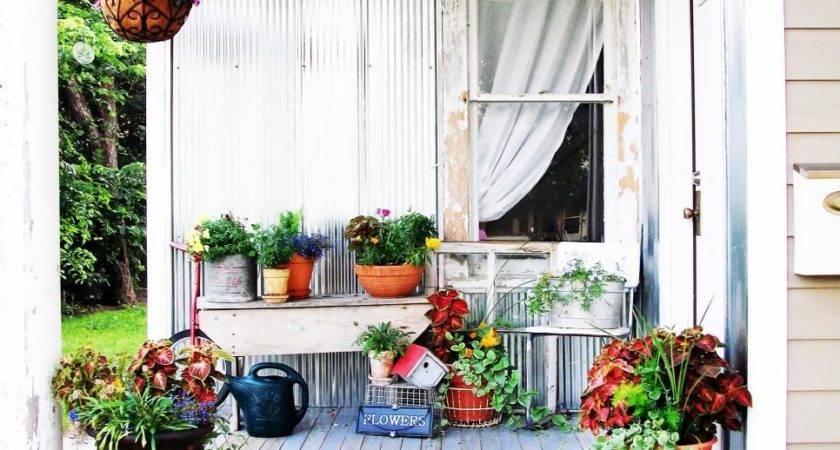 Shabby Chic Decorating Ideas Porches Gardens Hgtv