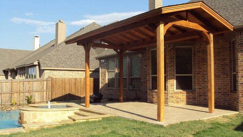 Shingled Patio Cover Gable Quotes