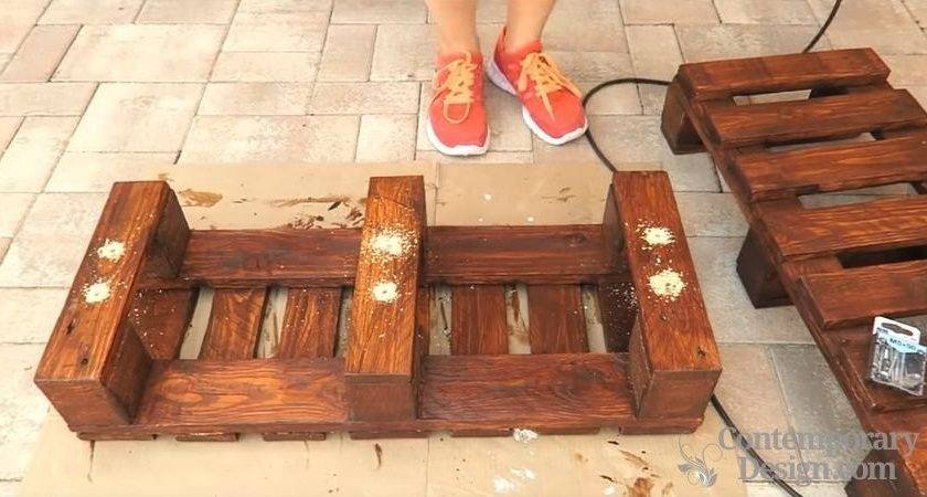 Shoe Rack Made Out Pallets