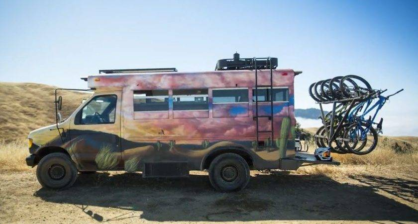 Short Bus Turned Camper Conversion Makes Most