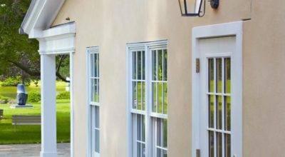Side Door Smaller Wide Exterior Wall Lights