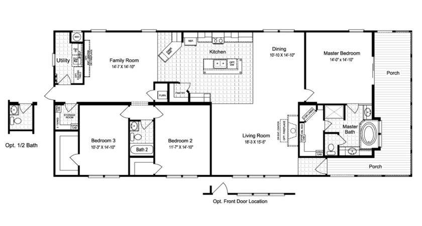 Sierra Floor Plan Palm Harbor