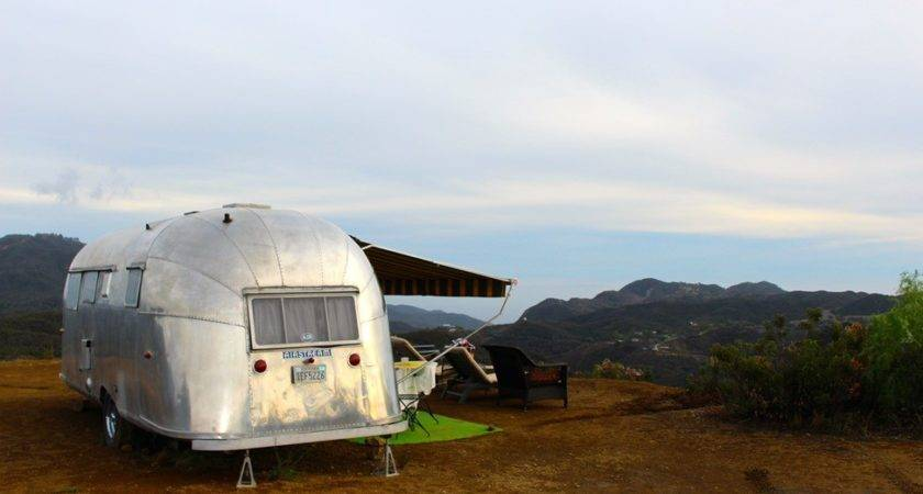 Silver Trailer News Airstream Bambi Beach