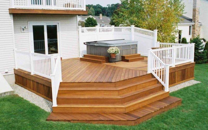 Simple Back Deck Ideas Arch Dsgn